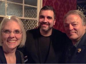 Susan Gerbic, Mark Edward, and Thomas John - the hot reader
