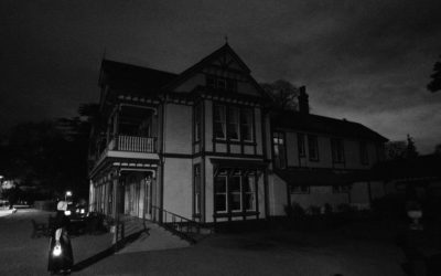 Friday Night Gathering at a haunted house!